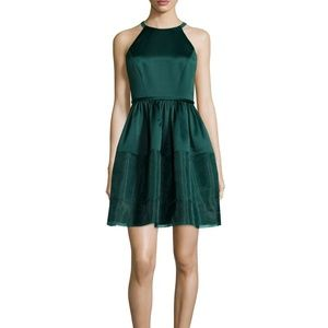 New Erin Fetherston Fit & Flare Dress, Teal, SZ 6